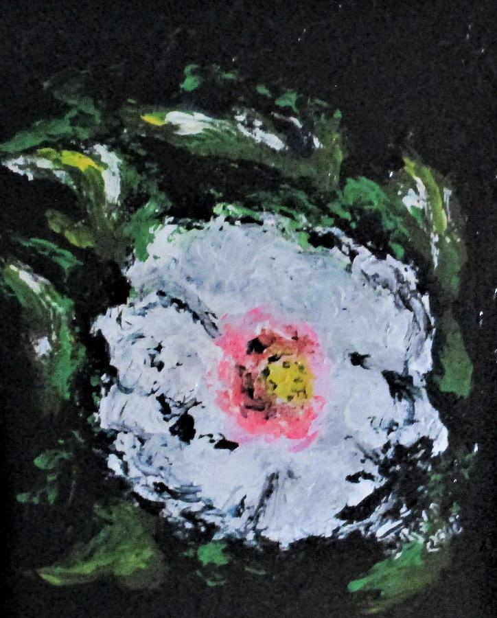 Erika's White Flower by Clyde J Kell