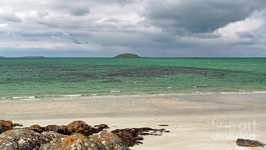 Eriskay - Island of Lingay and Sound of Barra by Maria Gaellman