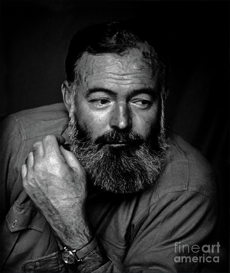 Ernest Hemingway by Doc Braham