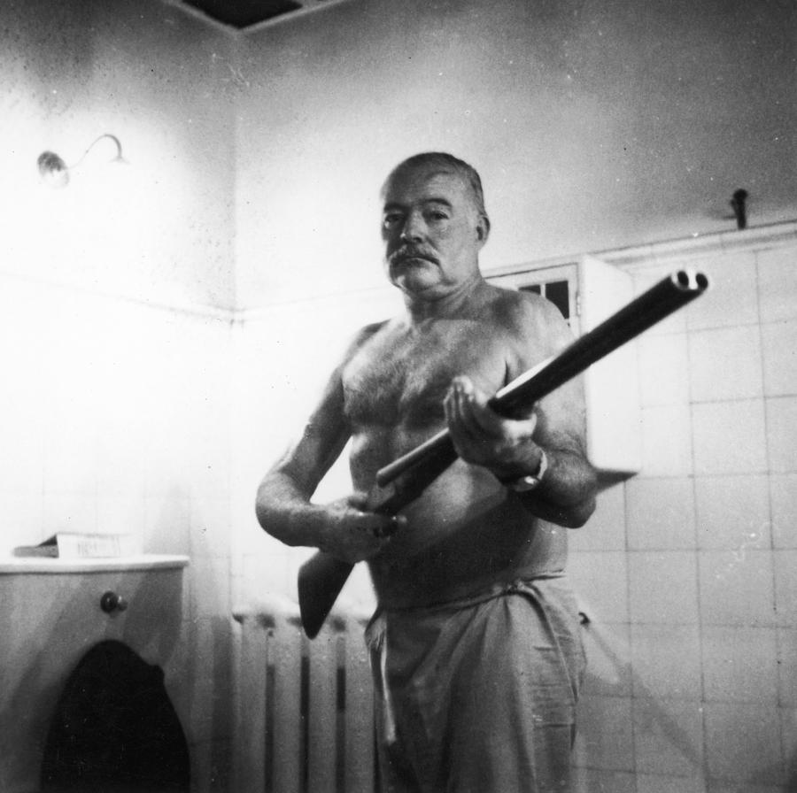 Ernest Hemingway Photograph by Fotosearch