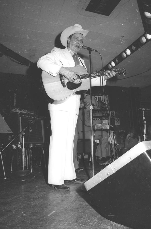 Ernest Tubb At The Palomino Photograph by Michael Ochs Archives