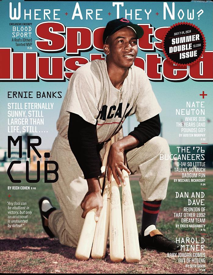 Ernie Banks, Where Are They Now Sports Illustrated Cover Photograph by Sports Illustrated