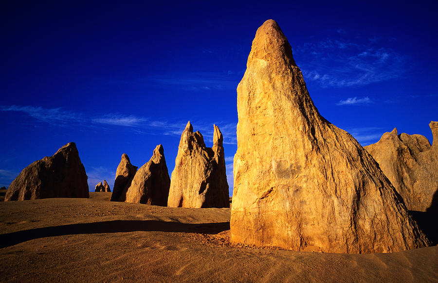 Eroded Rock Formations, Pinnacles Photograph by John Banagan