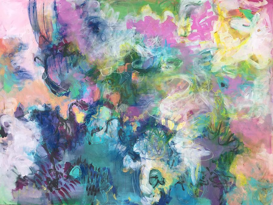 Floral Painting - Erols Joy by Laurie Maves ART