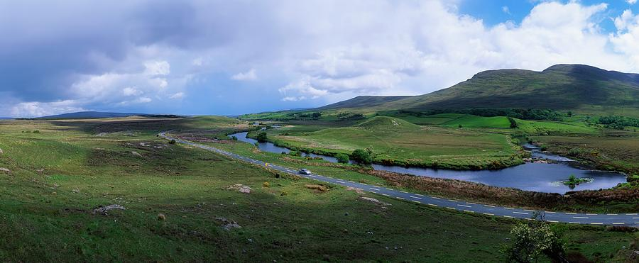 Erriff Valley, Co Mayo, Ireland Photograph by The Irish Image Collection  / Design Pics