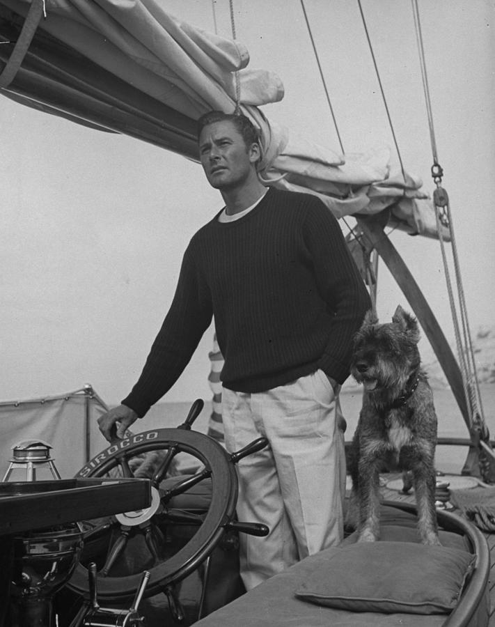 Errol Flynn Photograph by Peter Stackpole