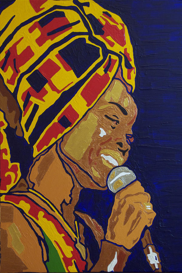 Erykah Badu by Rachel Natalie Rawlins