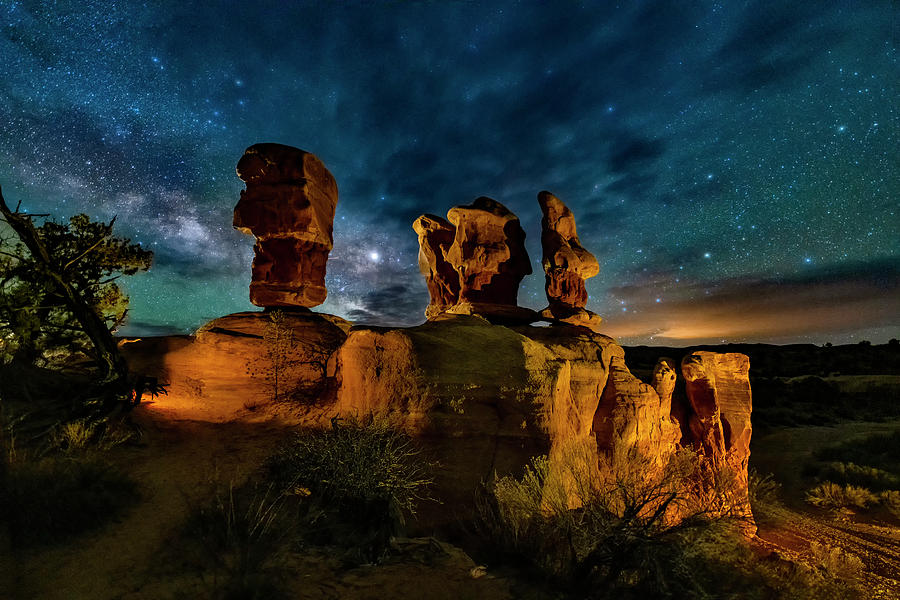 Escalante Milky Way by Michael Ash