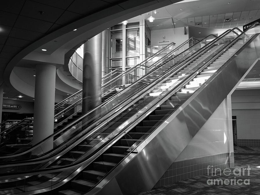 Escalators by Bob Mintie