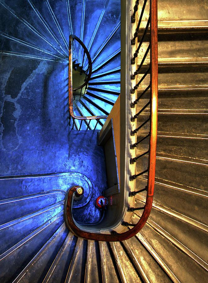 Escalier Photograph by Ag Photographe