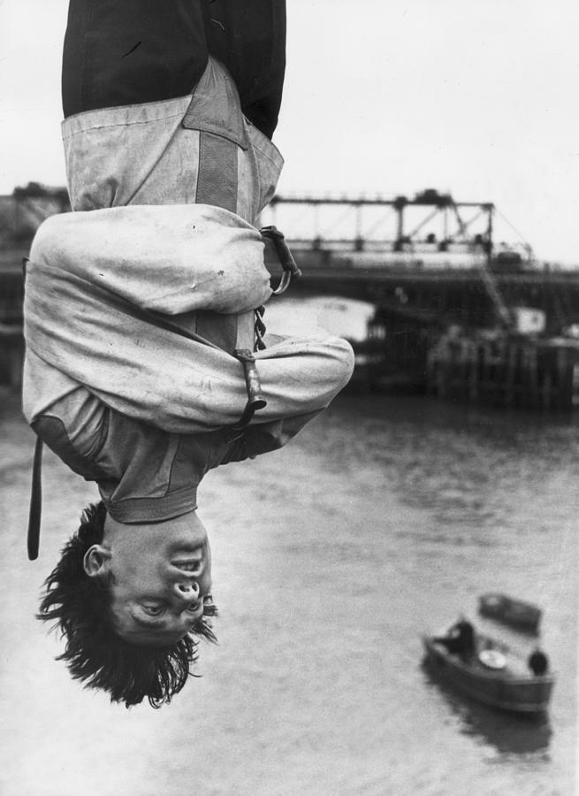 Escapologist Photograph by Peter Keegan