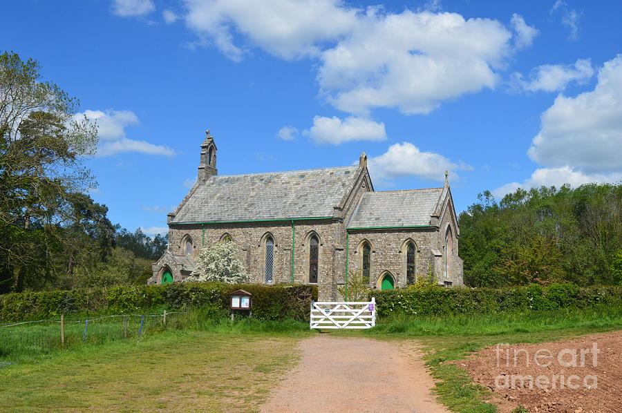 Church Photograph - Escot Church by Andy Thompson