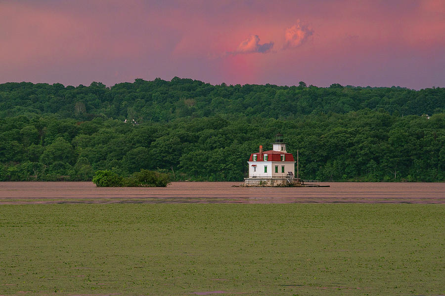Esopus Lighthouse Photograph - Esopus Light After A June Storm by Jeff Severson