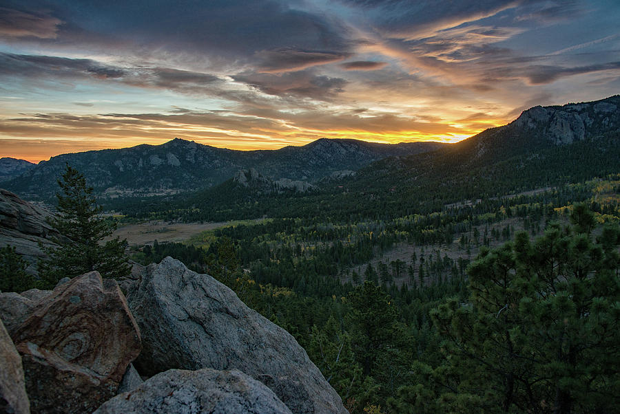 Estes Valley Daybreak by Darlene Bushue
