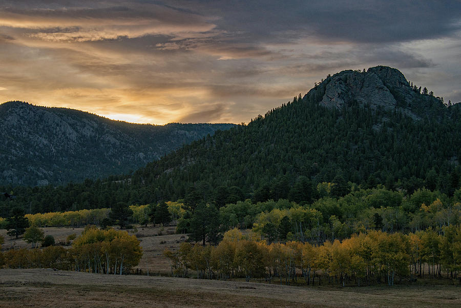 Estes Valley Sunrise by Darlene Bushue