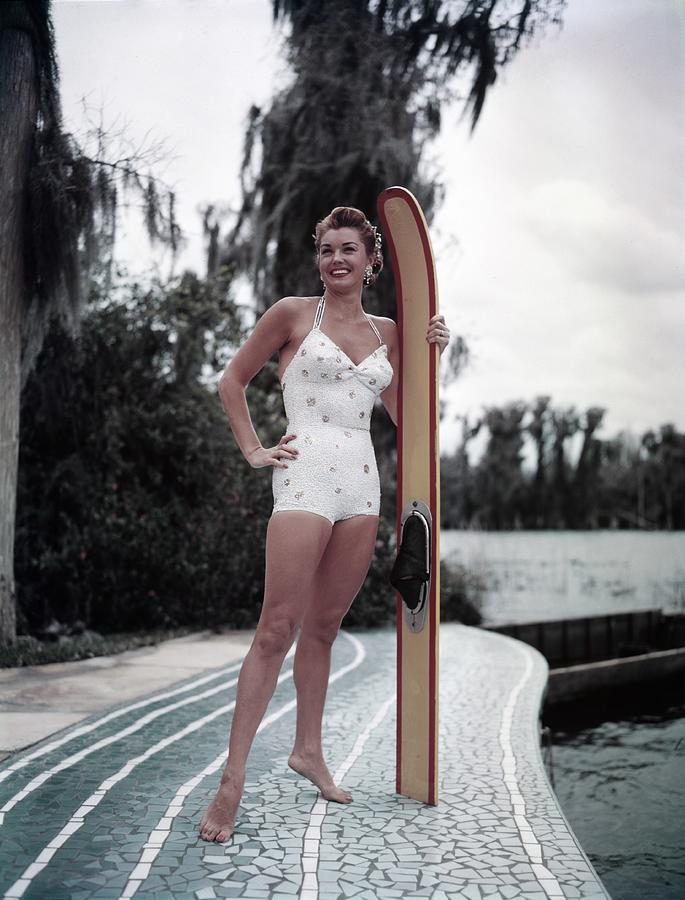Esther Williams At Cypress Gardens Photograph by Michael Ochs Archives