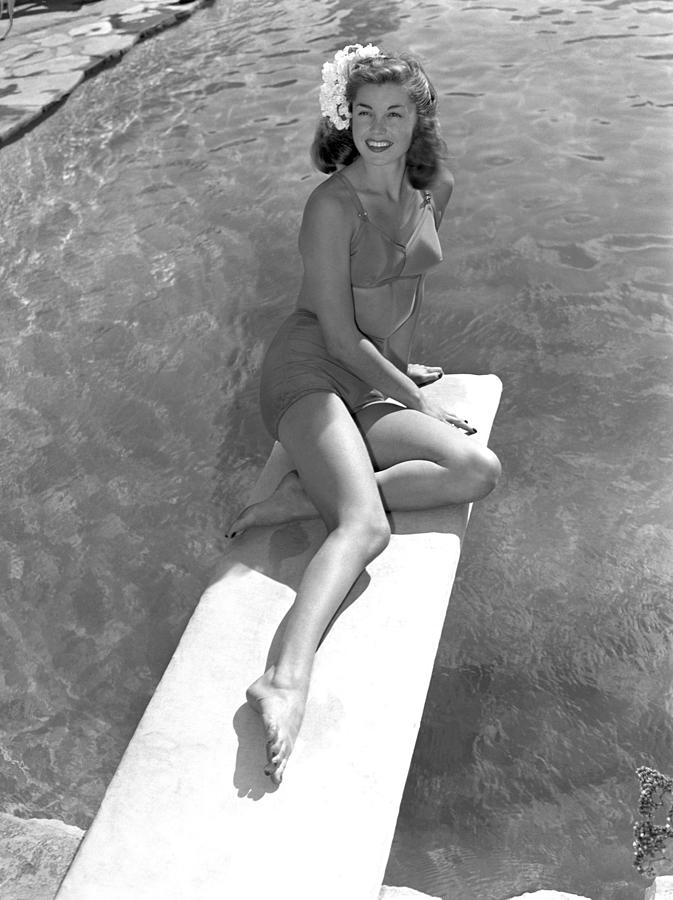 Esther Williams At The Beverly Hills Photograph by Earl Theisen Collection