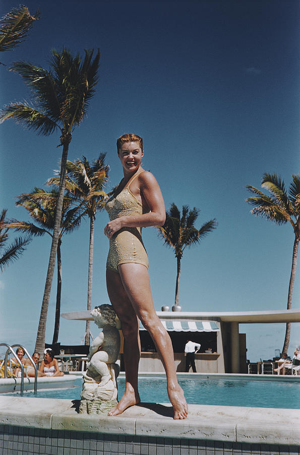 Esther Williams Photograph by Slim Aarons
