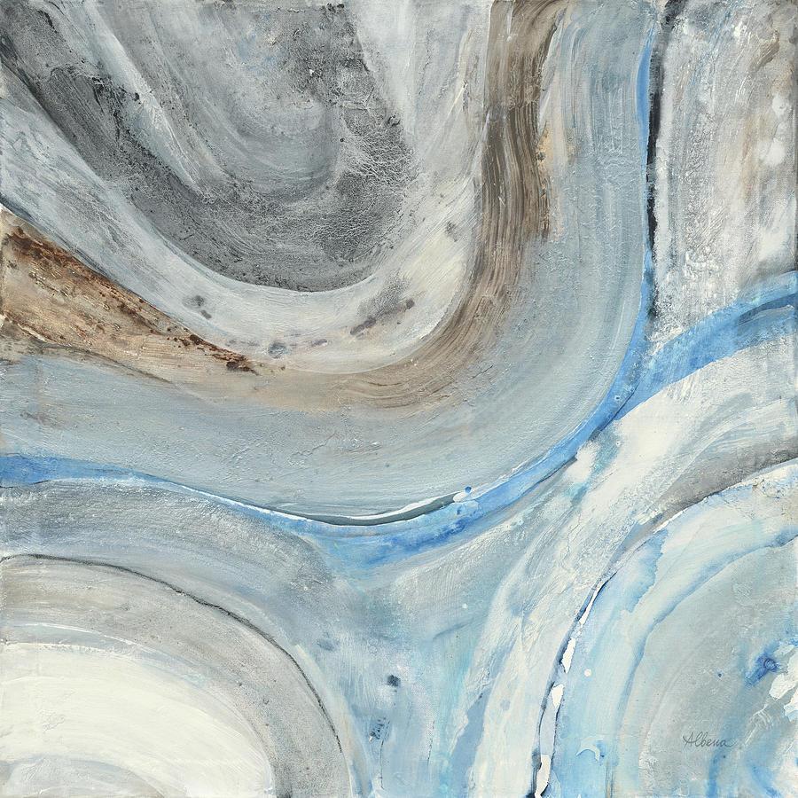 Abstract Painting - Estuary by Albena Hristova