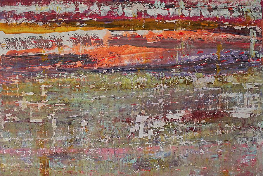 Estuary original painting by Sol Luckman