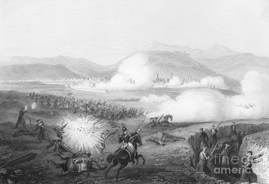 Etching Of The Battle Of Kars Photograph by Bettmann
