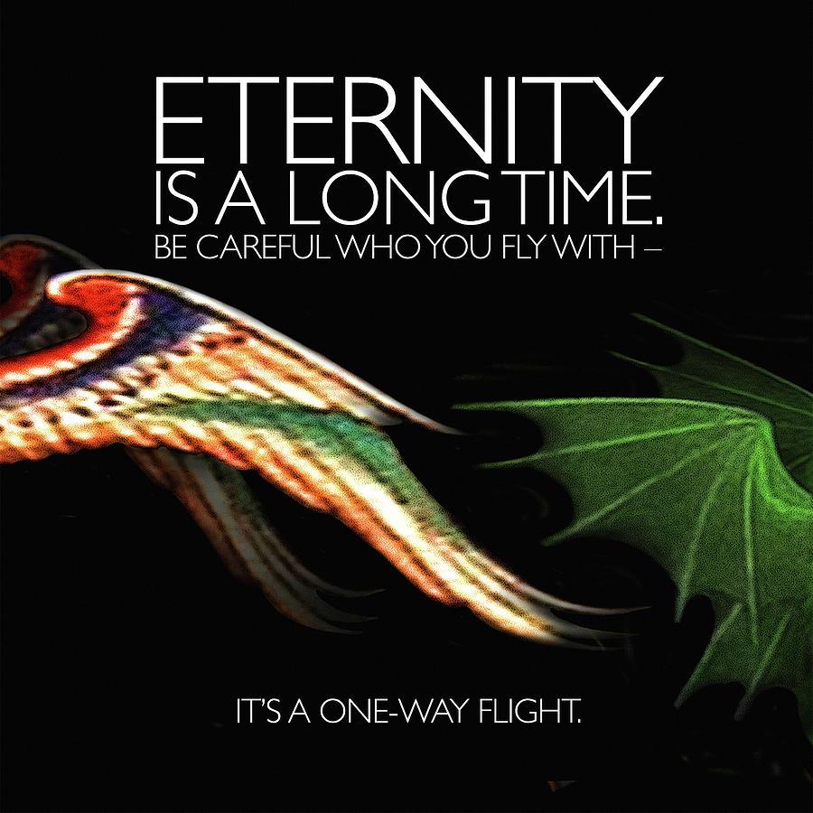 Eternity Is A Long Time Digital Art By Andy Schmalen