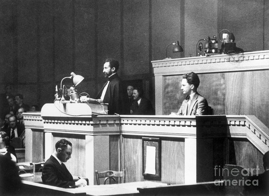 Ethiopian Leader Haile Selassie Photograph by Bettmann