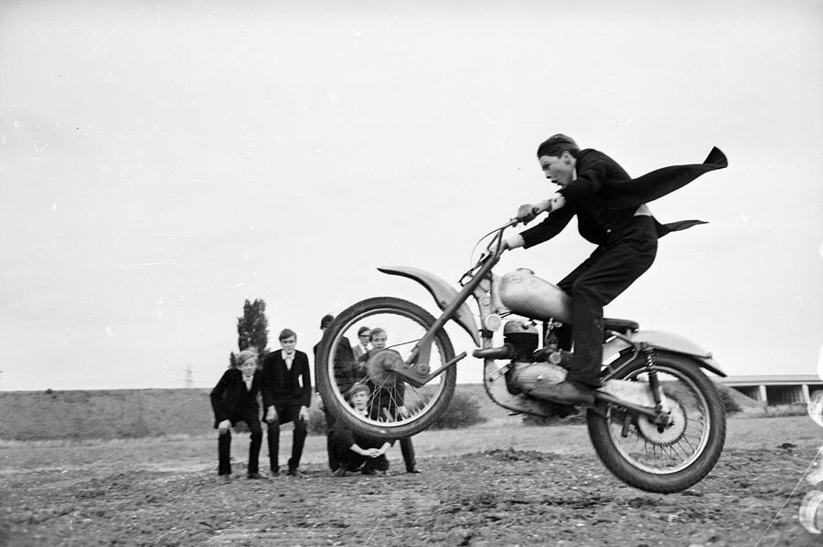 Eton Bikers Photograph by Potter