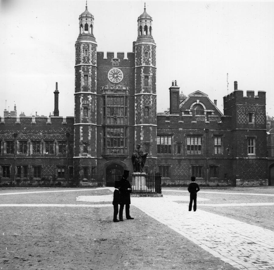 Eton College Photograph by Hulton Archive
