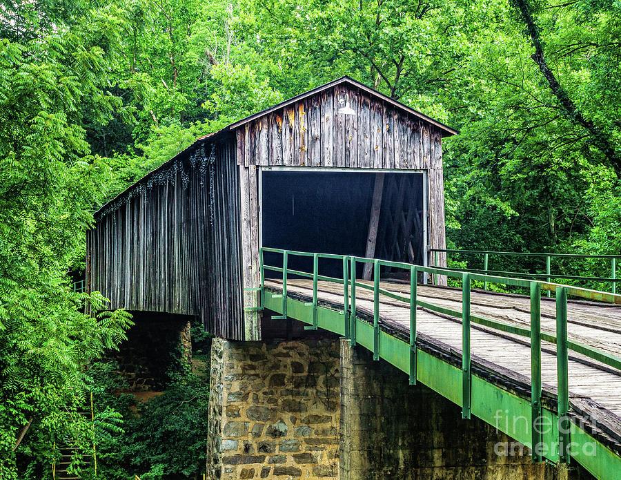 Euharlee Creek Covered Bridge by Nick Zelinsky