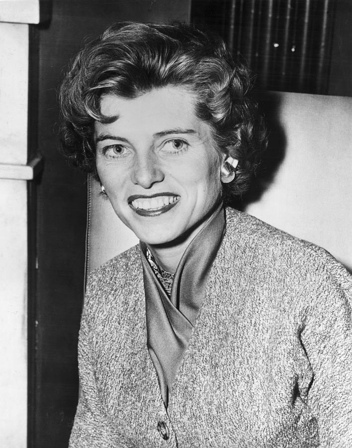 Eunice Shriver Photograph by Hulton Archive