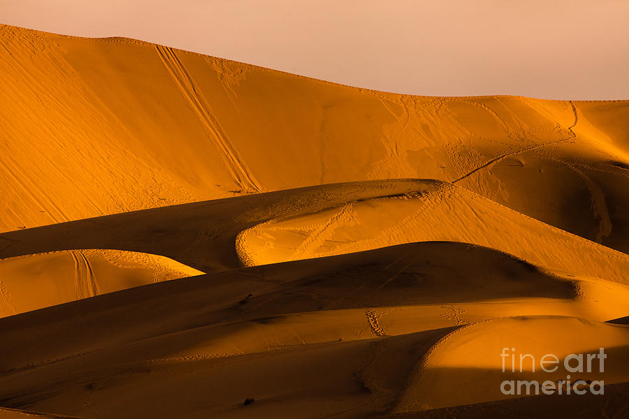 Mountains Photograph - Eureka Dunes Area, Death Valley by A.f.smith