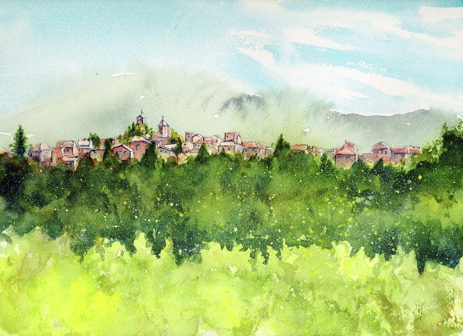 european memories painting by Chris Hobel