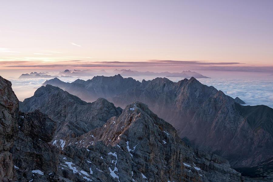 European Sunrise Photograph by Landschaftsfoto