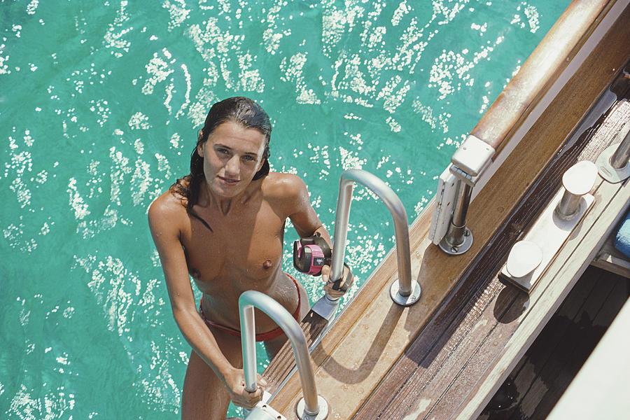 Eva Maria Lopez Photograph by Slim Aarons