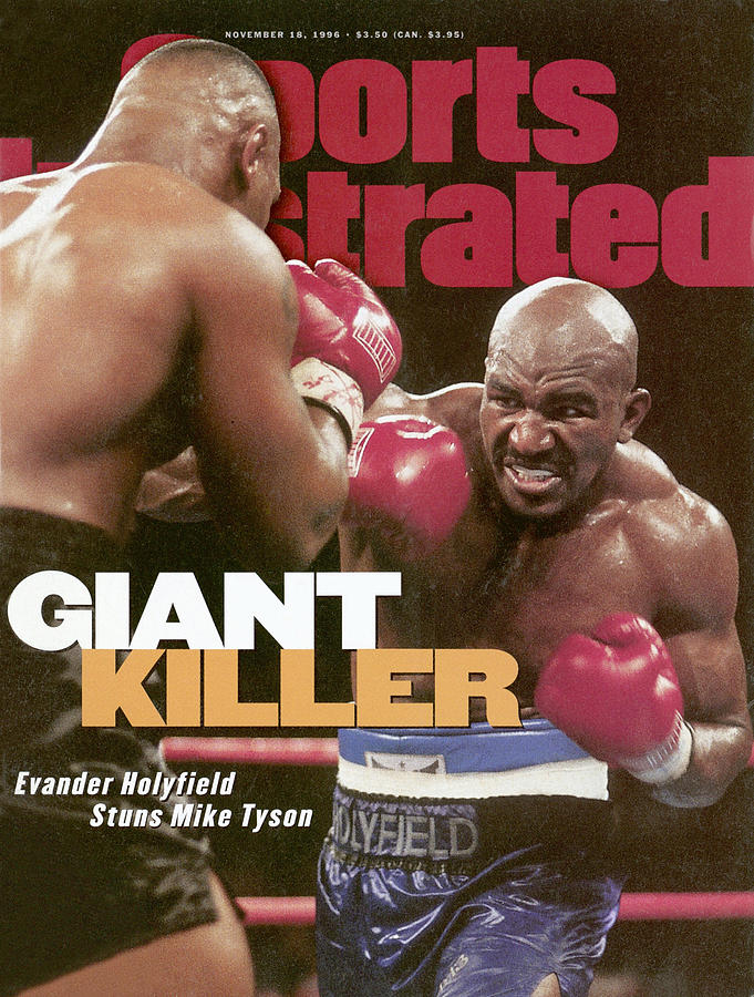 Evander Holyfield, 1996 Wba Heavyweight Title Sports Illustrated Cover Photograph by Sports Illustrated