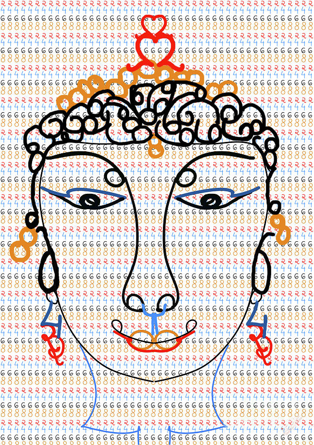 Even No. Face And How Many Even No. Are There Digital Art