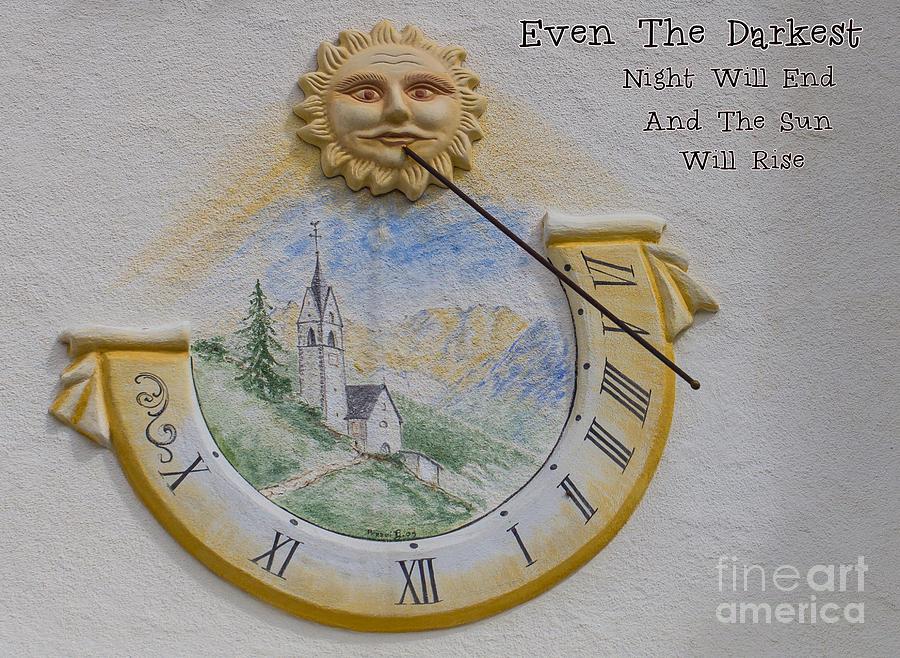 Even The Darkest Night Will End... by Eva Lechner