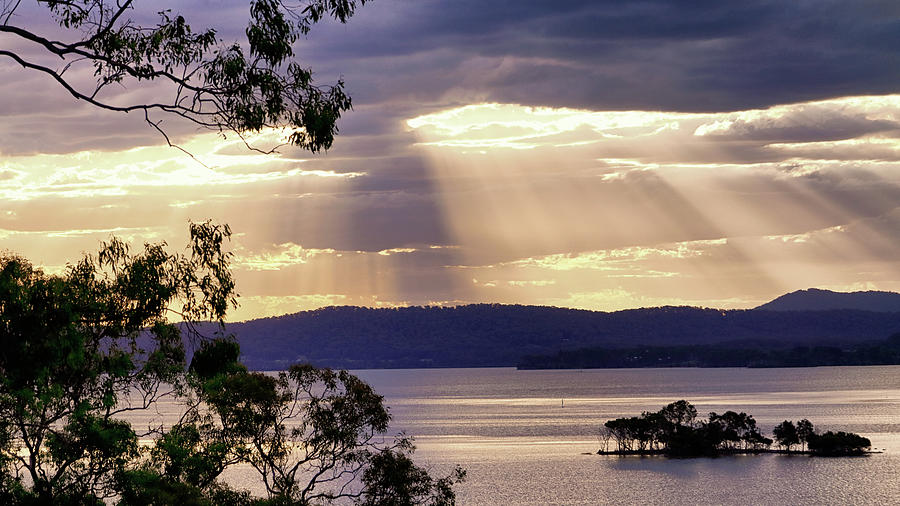 Evening at Green Point by Nicholas Blackwell