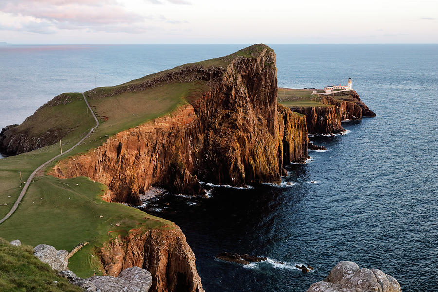 Evening at Neist Point by Nicholas Blackwell