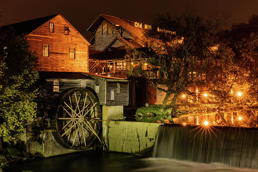 Evening at the Old Mill  by Kelly Kennon