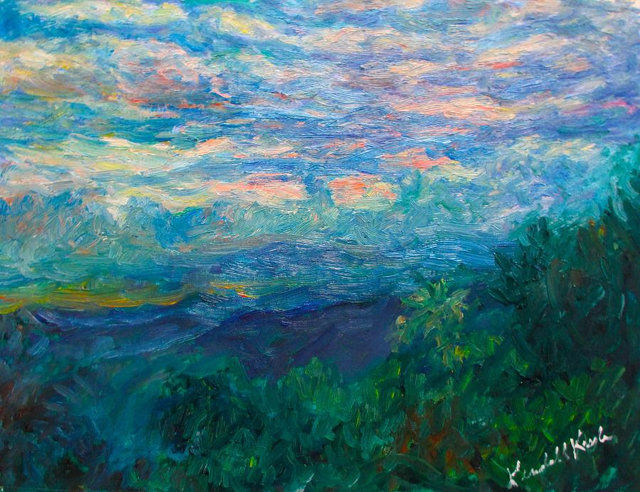 Evening Blue Ridge Light Stage One by Kendall Kessler
