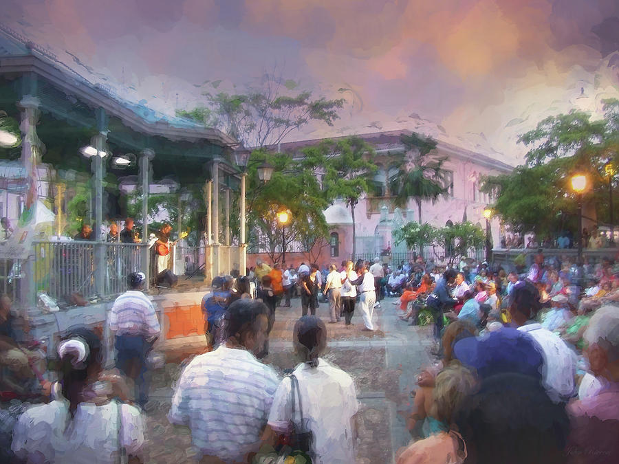 Evening Festival by John Rivera