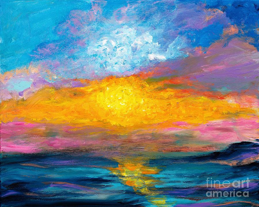 Evening Glow by Art by Danielle