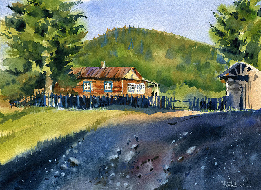 Evening in Altai by Dora Hathazi Mendes