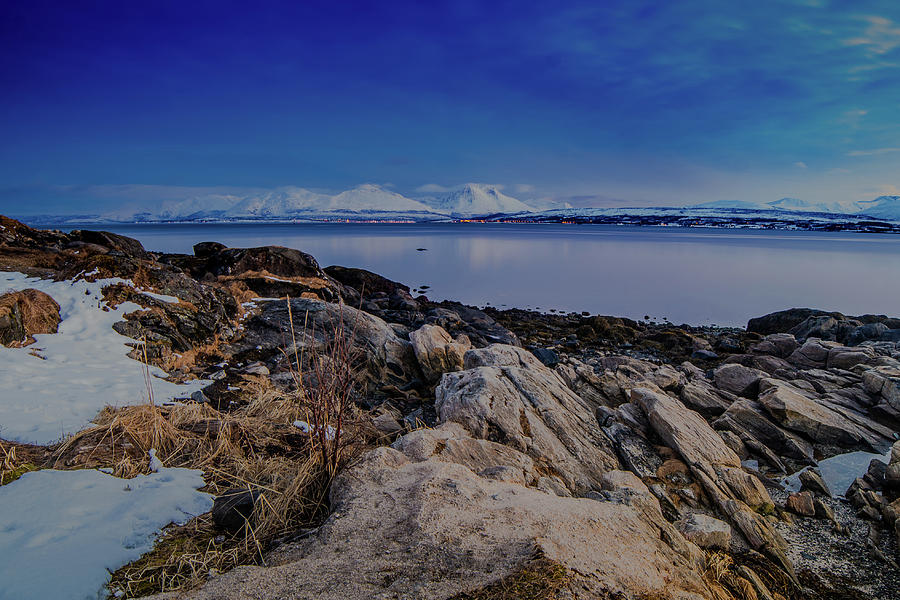 Hiking Photograph - Evening In Tromso by Kai Mueller