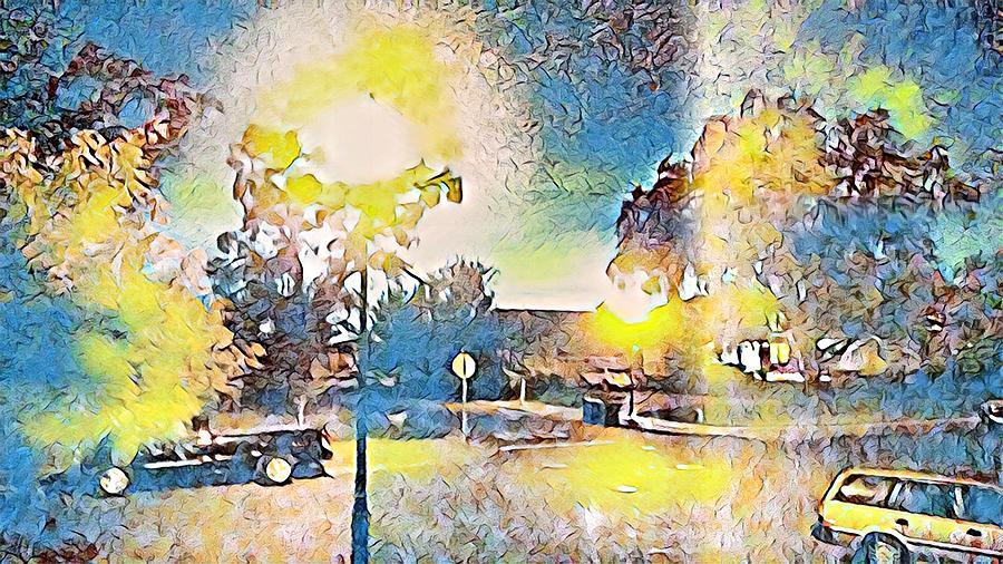 Evening lights by Steven Wills