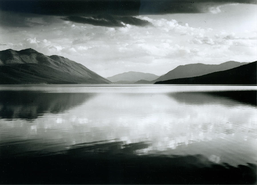 Evening, Mcdonald Lake, Glacier Photograph by Archive Photos