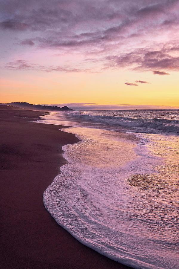 Evening on Gleneden Beach by Whitney Goodey