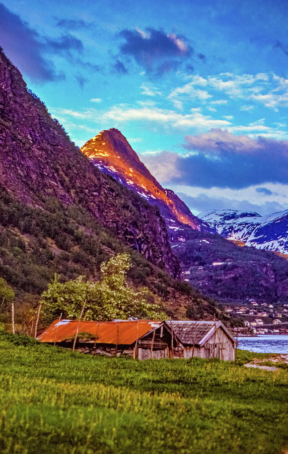 Evening On The Fjord Photograph